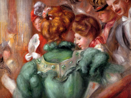 Box in the Theater des Varietes by Pierre-Auguste Renoir