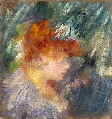 Jeanne Samary by Pierre-Auguste Renoir