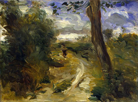 Landscape between Storms by Pierre-Auguste Renoir
