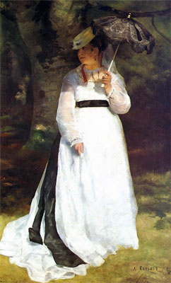 Lise with a Parasol by Pierre-Auguste Renoir