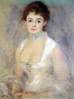 Madame Henriot by Pierre-Auguste Renoir