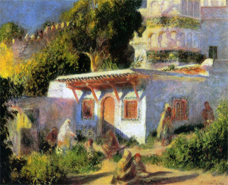 Mosque in Algiers by Pierre-Auguste Renoir