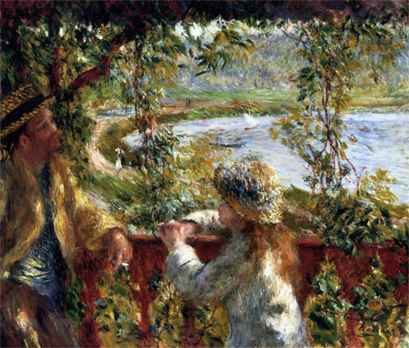 Near the Lake by Pierre-Auguste Renoir