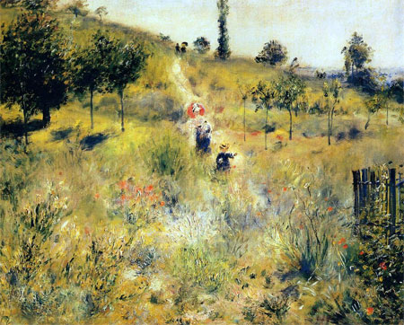 Path Through the High Grass by Pierre-Auguste Renoir