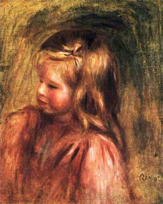 Portrait of Coco by Pierre-Auguste Renoir