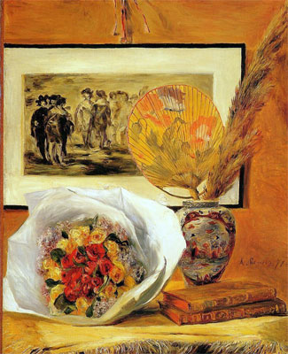 Still Life with Bouquet by Pierre-Auguste Renoir
