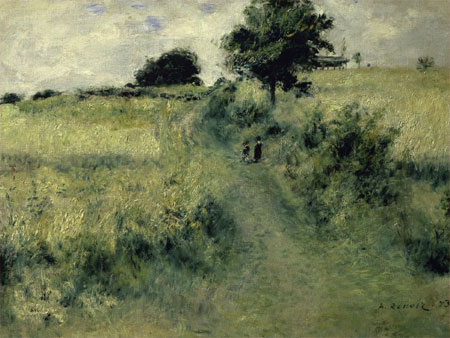 The Meadow by Pierre-Auguste Renoir