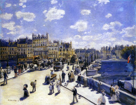The Pont Neuf, Paris (Le Pont-Neuf, Paris) by Pierre-Auguste Renoir
