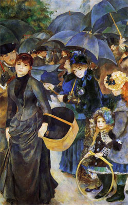 The Umbrellas (Les Parapluies) by Pierre-Auguste Renoir