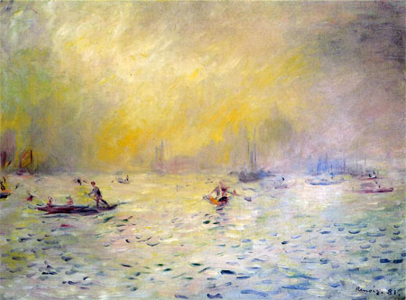 View of Venice (The Fog) by Pierre-Auguste Renoir