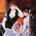 At the Concert (1880) by Pierre-Auguste Renoir