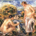 Bathers (1910) by Pierre-Auguste Renoir