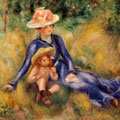 Yvonne and Jean (1899) by Pierre-Auguste Renoir